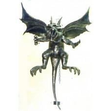 Дракон Арт. Кованый дракон на цепи