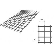Сетка сварная (дорожная) 100х100х5мм 1,5х2м