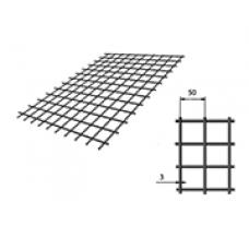 Сетка сварная (дорожная) 50х50х3мм 1х2м