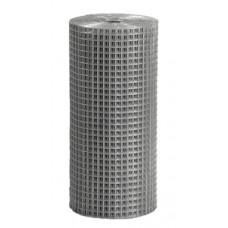 Сетка сварная (25х25х2) 1х25м цинк