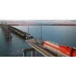 Строители начали сооружение железнодорожных пролетов Крымского моста
