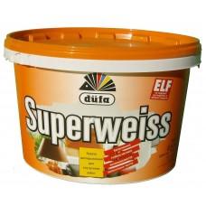 Супербелая краска Dufa Superweiss (14кг)