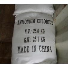 Аммоний хлористый, мешок 25кг