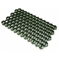 Газонная решетка зеленая, (упак 1,1м2)