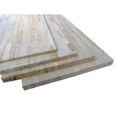 Мебельный щит сосна, размер 0.4х2м, толщ. 18мм