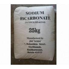 Натрий двууглекислый (сода пищевая), мешок 25кг