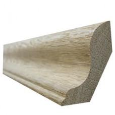 Плинтус деревянный фигурный, 2.5м