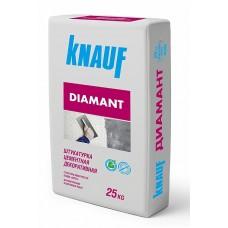 Штукатурка цементная декоративная КНАУФ-Диамант-260 белая, 25кг