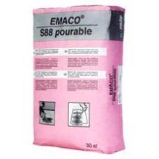 ЭМАКО S88/EMACO S88 (MasterEmaco S 488 PG) - Безусадочная быстротвердеющая сухая бетонная смесь наливного типа, 30кг