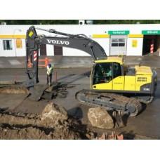 Аренда гусеничного экскаватора Volvo EC180B