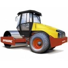 Каток грунтовый вибрационный Dynapac CA150/150D