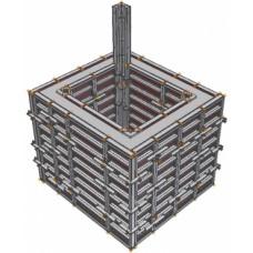 Опалубка для лифтовых шахт