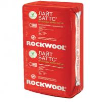 Утеплитель Роквул (Rockwool) Лайт Баттс 6м2 (0.3м3) толщ. 50мм