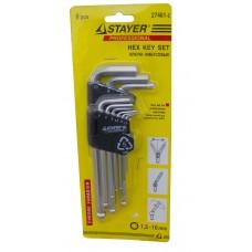 Stayer Professional (Ключи имбусовые)