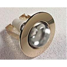 светильник точечный желтый в комплекте с лампой 60w