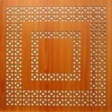 потолочная плита из ХДФ (эллада вишня)