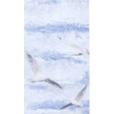 панель пвх цвет-№163.1 - Чайка голубая ширина-25см длина-270см
