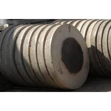 Крышка бетонная для колодца ПП-10 с чугунным  люком