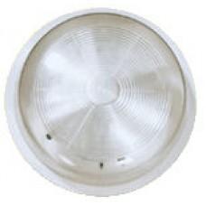 Светильник белый 100W IP 44 стекло (Vega)