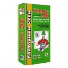 Выcoкoпpочный вoдocтойкий плитoчный клeй Глимс-96 , 25кг