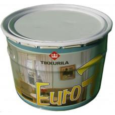 ЕВРО 7 латексная водоэмульсионная белая краска (14 кг)