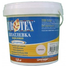 Шпатлевка для дерева Eurotex Береза (1.5кг)