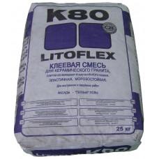 Клеевая смесь Litoflex K80 ECO, 25кг