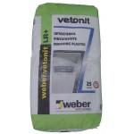 Шпатлевка финишная Вебер Ветонит ЛР+ (Weber Vetonit LR+), 25кг