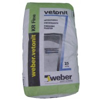 Финишная шпатлевка Вебер Ветонит КР (Weber Vetonit KR), 25кг
