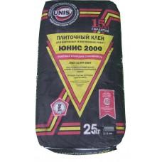 Плиточный клей Юнис 2000, 25кг