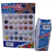 Затирка Ultracolor Plus №142 Мароне (каштановый) (2кг)