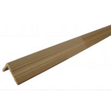 Уголок сосновый безсучковый фигурный (40х40мм х 3м)