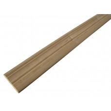 Наличник сосновый фигурный сучковый (80мм х 2.2м)