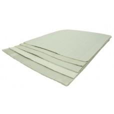 Асбестовый (картон) лист, размер 1х0.8м, толщ. 8 мм