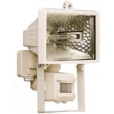 Прожектор галогенный.500 W с датчик./белый