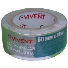 Скоч алюминивый Vivent (50мм х 40м)