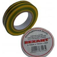Изолента Rexant (13мм/15мм/25м)
