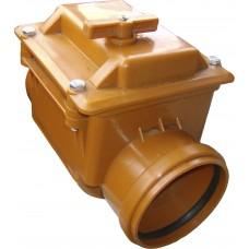 Обратный канализационный клапан (диаметр 110)