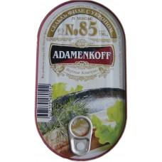 Сельдь филе с укропом в масле №85 ADAMENKOFF