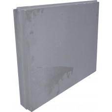 Плита пазогребневая (670х500х80) обычная