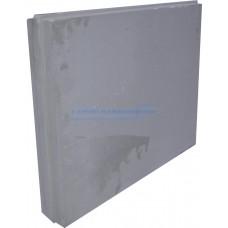 Плита пазогребневая (670х500х100) обычная