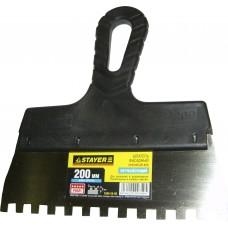 Шпатель зубчатый 6х6 (200мм)