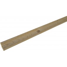 Плинтус напольный сучковый сосна (45мм х 3 м; вн. размер 30х30мм)