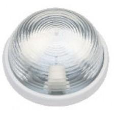 Светильник белый 100W IP 44 стекло (Rondo)