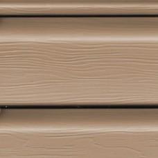 Виниловый сайдинг FineBer коричневый (орех), м2