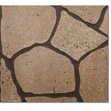 Листовые панели EUCATEX (Ply Gem)Камень обветренный (коричневый)