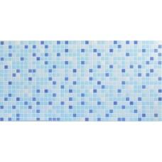 Листовя ПВХ панель (1035 мм * 500 мм) Синий микс