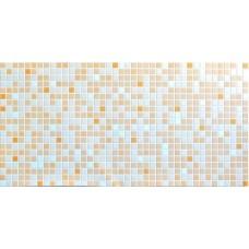 Листовя ПВХ панель (1035 мм * 500 мм) Оранжевый микс