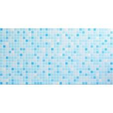 Листовя ПВХ панель (1035 мм * 500 мм) Голубой микс