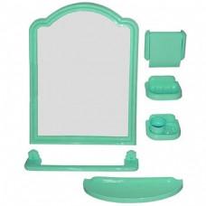 Набор для ванной комнаты  с зеркалом